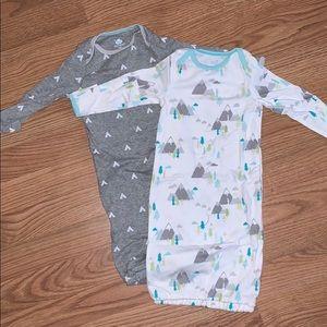 Newborn gowns